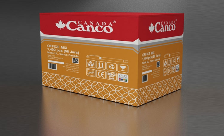 export carton office mix jar 25pcs